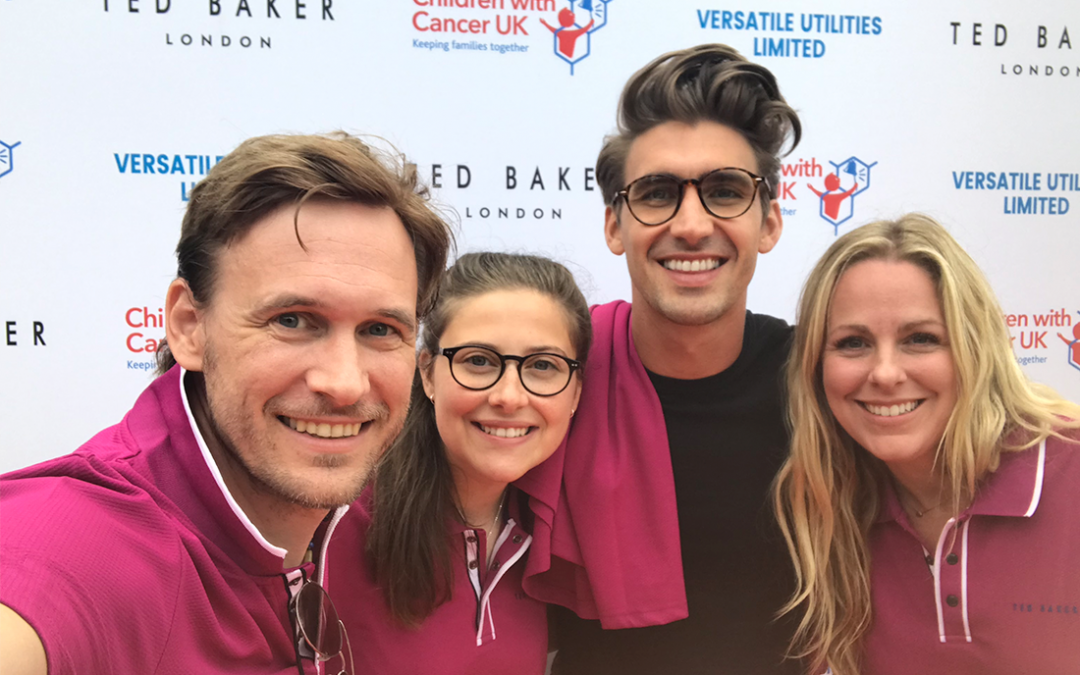 Out of the villa, on to a golf course – Children With Cancer UK's Celebrity Golf Day!